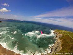 volar en asturias parapente unaideaunviaje.com. La gran experiencia de volar en Asturias en parapente  #paragliding #parapente #Asturias #Gijón #adventure