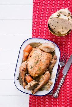 Boiled Chicken With Vegetables