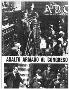 "ABC, 24 de febrero de 1981: ""Asalto armado al Congreso"" (23-F) http://hemeroteca.abc.es/nav/Navigate.exe/hemeroteca/madrid/abc/1981/02/24/001.html"