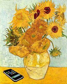 Modified - Sunflowers Van Gogh