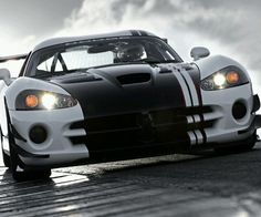 Mean Dodge Viper! Drive this by clicking on the pic #carporn