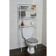 "Found it at Wayfair - 23.7"" x 59.6"" Free Standing Over The Toilet"