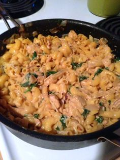 Ancient Harvest Quinoa Pasta, Greek Yogurt and Chicken Mac and Cheese