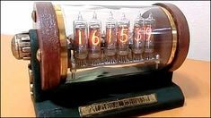 How to make a bottle of wine and 100 in the average small Nixie Tube Clock Antique