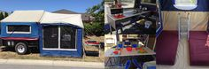 Camper Hire - MDC Camper Trailer with everything included. 6 to 8 berth for just $80 per day!!  www.caravanandcampinghire.com