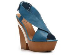 I WANT these, in this color, for the summer.....  N.Y.L.A. Krisscross Wedge.  Will be SO cute with skinny jeans.  (I'm utilizing the power of my mind and already mentally picturing them in my possession....)