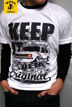 Alpine white | mk1 | VW Golf shirt