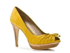 I want to wear these with a Navy & white Polka dot dress