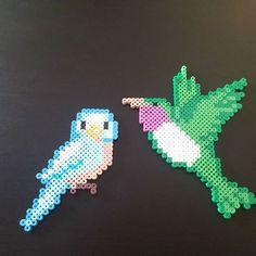 Birds hama beads by Jeremy Lane