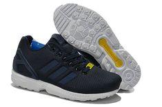size 40 0a160 965e0 adidas Originals Spring Summer 2014 ZX Flux Base Navy White Royal