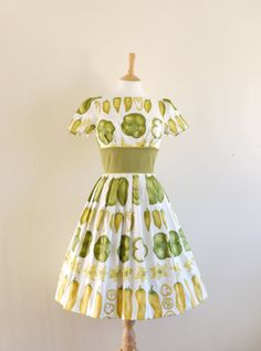 I love this dress, but I just don't know what occasion would call for a frock with a green-pepper motif