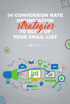 Great list of everything you need to do on your website to get people to sign up for your email list.