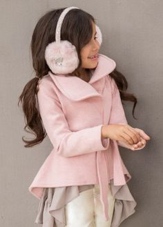 *NEW* Joanna Coat in Pink Cameo
