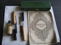 woodstock typewriter kit and booklet