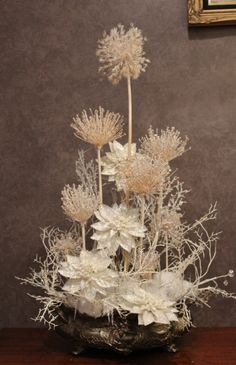 Frosted Alliums for