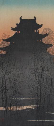 上原古年 Uehara Konen 名古屋城