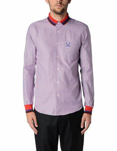 Chemise  manches longues Homme - RAF SIMONS FRED PERRY
