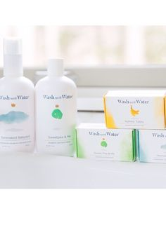 Wash with Water.  Organic. Vegan.  Made in the USA.