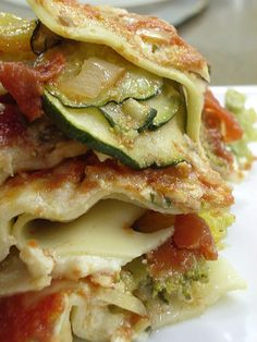 Light Vegetable Lasagna - America's Test Kitchen