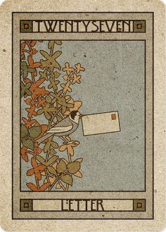 27/39. Letter - Chelsea-Lenormand by Neil Lovell
