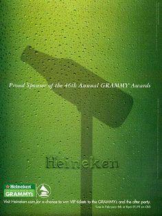 Pub Heineken sponsor Grammy Awards