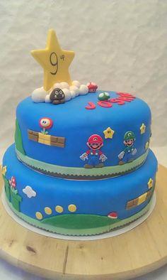 Taarten van Elena en Marcela: Super Mario Bros. taart
