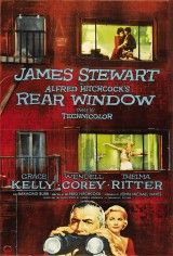 Rear Window is a 1954 American suspense film directed by Alfred Hitchcock. Starring James Stewart, Grace Kelly, Wendell Corey, Thelma Ritter, and Raymond Burr. Alfred Hitchcock, Hitchcock Film, Old Movies, Vintage Movies, Great Movies, Vintage Art, Vintage Posters, Classic Movie Posters, Classic Movies