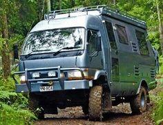 Mitsu Fuso Camper examples - Expedition Portal