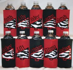 Buy 11 Get The FREE - Personalized Megaphone Cheer Insulated Water Bottle Cover Cheer Camp, Football Cheer, Cheer Coaches, Cheerleading Gifts, Cheer Gifts, Cheer Dance, Team Gifts, Cheer Bows, Cheerleading Uniforms