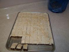 Mom's chocolate square...yummy
