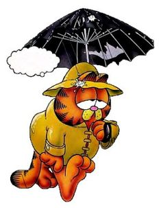Garfield holds the Guinness World Record for being the world's most widely syndicated comic strip.