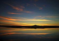 Atardecer en el Desierto de Atacama, Norte de Chile