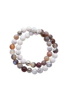 Wrap Bracelet With Silver Cairo Bead   Nialaya Jewelry
