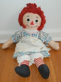 One of the sweetest things my ex-husband ever did was drive 4 hours to buy me a Raggedy Ann and Andy for Christmas.