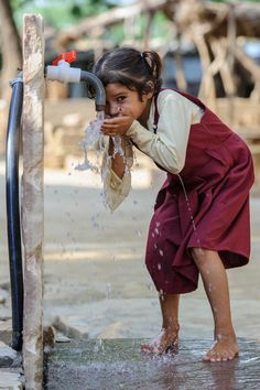 The Global Clean Water Crisis -- PepsiCo Expands Its Safe Water Program Water Scarcity, Water And Sanitation, Safe Drinking Water, Water Resources, Water Art, Human Rights, Blessings, Zero, Portraits