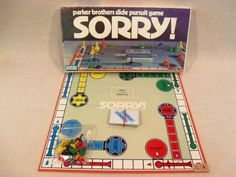 Vintage Sorry Board Game