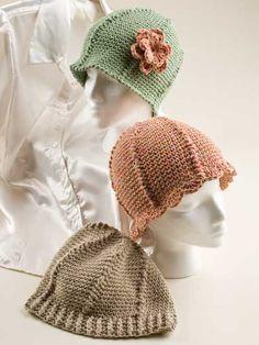Stitches of Love Chemo Hats - Crochet Chemo Caps Pattern