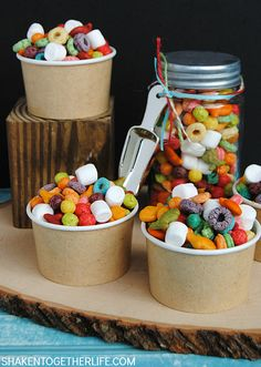 Make a fun snack mix