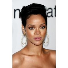 Beauty On Tuesdays Make-up Tutorial Inspired by Rihanna found on Polyvore