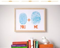 Fingerprint art...my husband is a Live Scan Tech..so he would LOVE this!