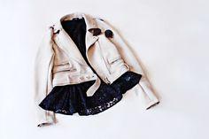 Spring jacket biker jacket