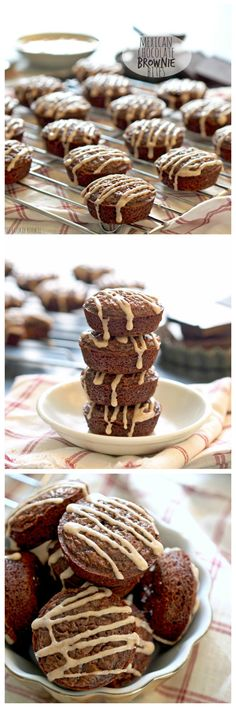 Yum! Mexican Chocolate Brownie Bites with Cinnamon Sugar Glaze! Spicy ...