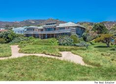 Steven Spielberg's Malibu Beach House, $125,000 a month for his 7,237-square-foot Craftsman-style main house and accompanying two-bedroom guesthouse.