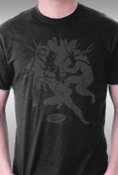 4 Ninjas in this Shirt.