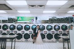 Nobody has ever looked this good at a laundromat before | Image by Danila Mednikov