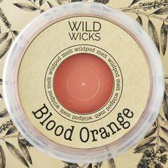Wild Wicks Blood Orange Wildpod Soy Melt
