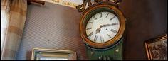 The old grandfather clock. Jurva, Etelä-Pohjanmaa. www.mantylantila.fi/