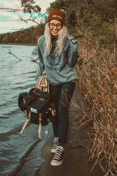 discover ideas about mode outfits 6 « theguardianstyle Hipster Girl Fashion, Hipster Outfits, Mode Outfits, Fashion Pants, Curvy Fashion, Urban Fashion, Fashion Outfits, Womens Fashion, Fashion Trends