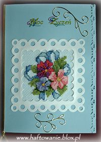 haftowane kartki