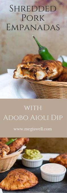 Use your leftover pulled pork for these Shredded Pork Empanadas. Fire ...